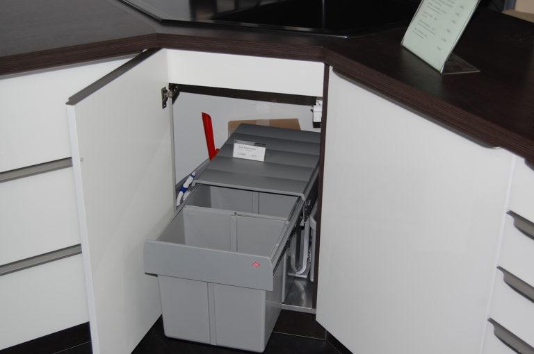 Abfallsammler für Eckspüle - drehbar (2)